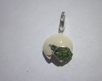"enameled pendant with Rhinestones in ""925"" (63)"