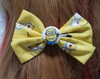 Minions Hair Bow