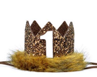 Where the Wild Things Are Party Supplies || Max Birthday Crown ||Jungle  Birthday Crown || Wild One Crown || Glitter Max Crown