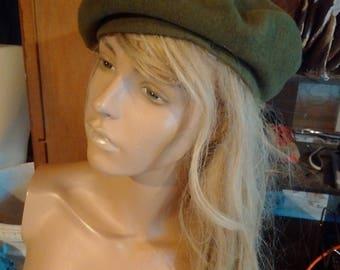 Vintage Green beret hat