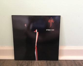 "Steely Dan ""Aja"" vinyl record"