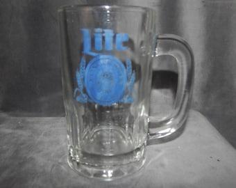 """Vintage Lite """" A Fine Pilsner Beer'' Mug 1970's"""