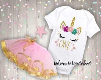 Sleepy Unicorn Custom Color Sparkly Glitter Birthday Shirt Bodysuit Tank Top  Baby Kids Girls - ANY AGE or Name