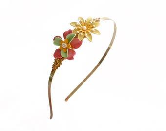 Flowers Headband. Laliblue