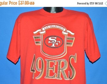 XMAS in JULY SALE 90s San Francisco 49ers t-shirt Extra Large