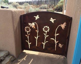 Metal Gate - Plasma Cut Decorative Gate Australia