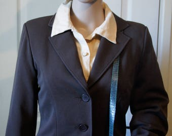 Brown suit jacket, vintage.  1940s style