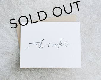 Thanks Card // Thank You Card