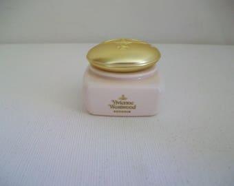 Miniature  Vivienne Westwood Boudoir Satin Dusting Powder, rare