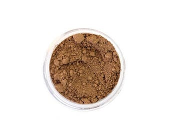 SALE Siena - Natural Mineral Foundation - Medium Tan Warm Tone Foundation - Vegan Cosmetics