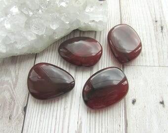 Carnelian Smoothie Stone Polished Palm Stone Pebble Gemstone Worry Stone