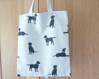Labrador Fabric Shopping Bag