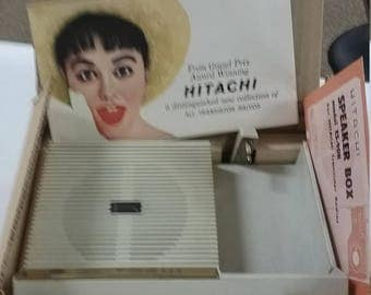 10% OFF 3 day sale Hitachi radio speaker used works nice condition