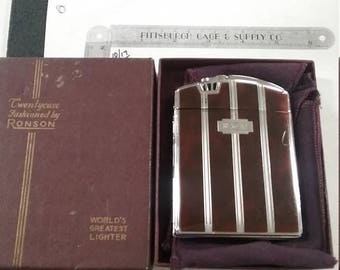 10% OFF 3 day sale Untested ronson cigarette lighter and case
