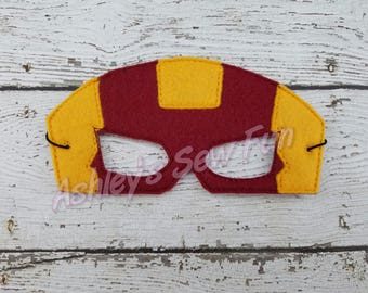 Iron Super Hero Mask