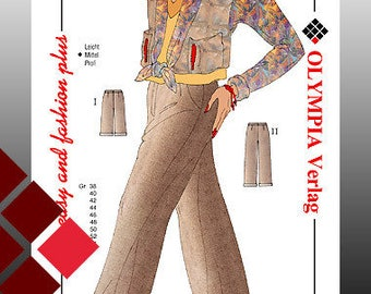 Patterns, 0709, trouser (1123)