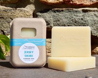 Jersey Shore Soap - NJ Gifts - Ocean Breeze Soap - Sea Soap - Vegan Soap - Cold Process Soap - Handmade Beach Soap - NJ Shore -