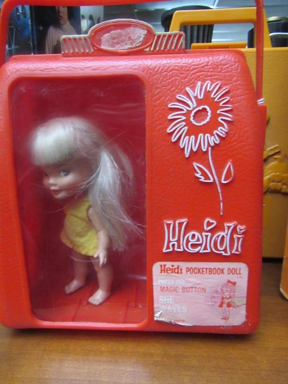 Remco Pocketbook Doll - Heidi