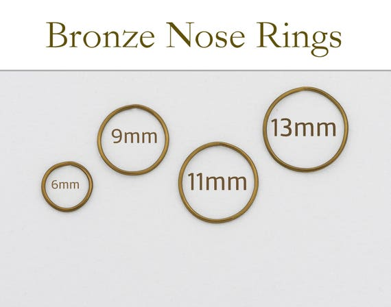 Bronze Nose Ring-Best Fashion Nose Jewelry