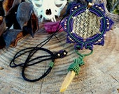 Flower of Life Necklace, ...