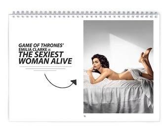 Emilia Clarke Vol1. - 2018 Calendar