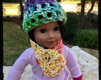 American Girl Crochet Set