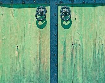 Green Door 4x6,5x7, 8x10, 11x14