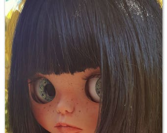 Valentina custom blythe doll
