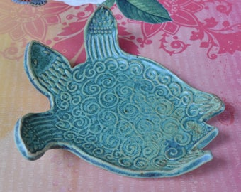 Turtle teabag holder. Turtle soap holder. Turtle spoon rest. Turtle ring holder. Sea turtle ring holder. Turtle dish. Turtle plate