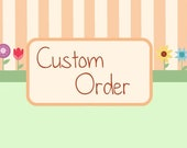 Custom order for SarahGable, keychain based on halloween ornaments