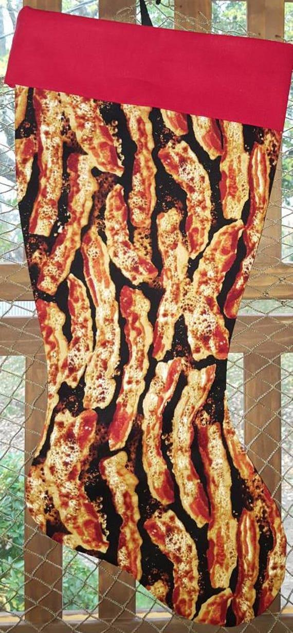 Bacon Christmas Stocking
