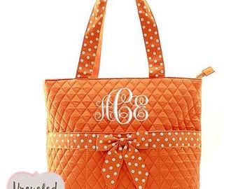 Monogrammed Diaper Bag, Diaper Bag Set, Quilted Diaper Bag, Monogram Baby Shower Gift, Baby Shower Gift, Diaper Bags, Diaper Bag Pattern