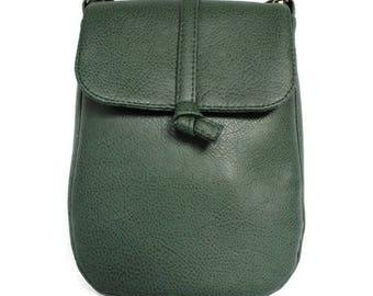 Green shoulder bag - green bag - crossbody bag green
