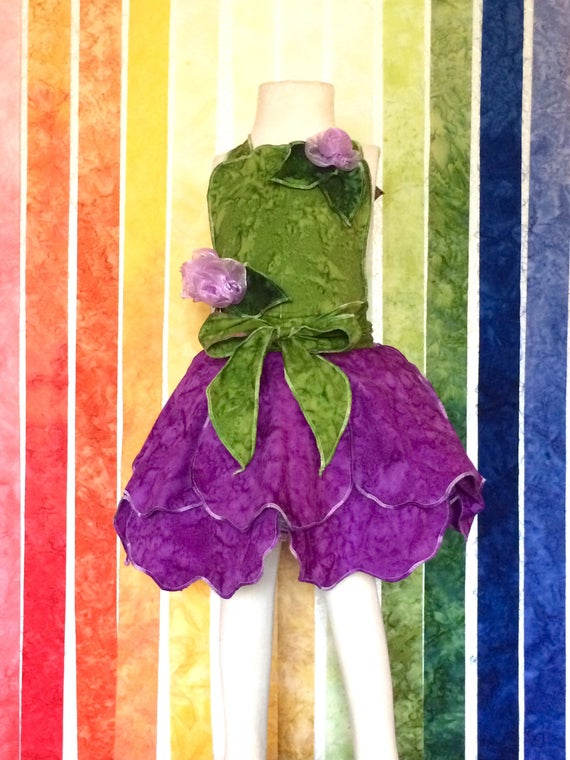 Fairy Dress Up Apron, Purple, Disney Vacation Outfit, Birthday Dress, Kids Dress up, Fairy Dress, Halloween Costume, Princess Dress, Apron