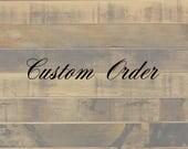"Custom order ""Sister & Atoms"""