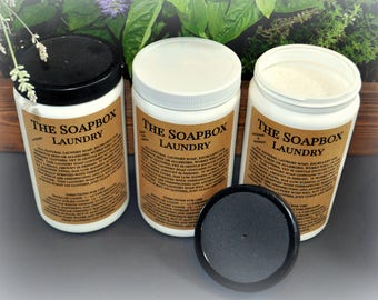 The Soapbox Natural Laundry Detergent