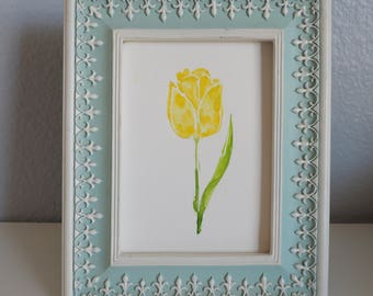 Watercolor Art print - Wall art tulip - Housewarming Hostess gift - Tulip art - Home decor - Birthday gift