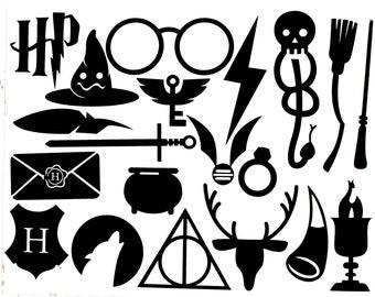 Harry Potter Vinyl Stickers Decal
