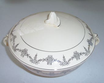 Taylor Smith & Taylor 1825 Covered Vegetable Bowl