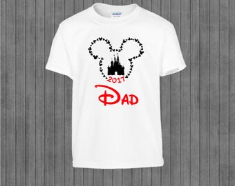 Family  Shirts, Printable Iron on Transfer, Print at Home,  Mickey and Minnie
