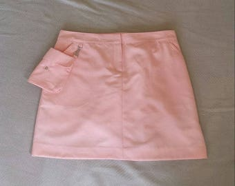 Izod pink skirt w detachable cargo pocket Sz XL
