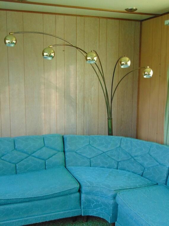 arc floor lamp brass lamp mid century lamp vintage floor lamp arc lamp brass arc lamp 60s lamp atomic lamp living room lighting 60s