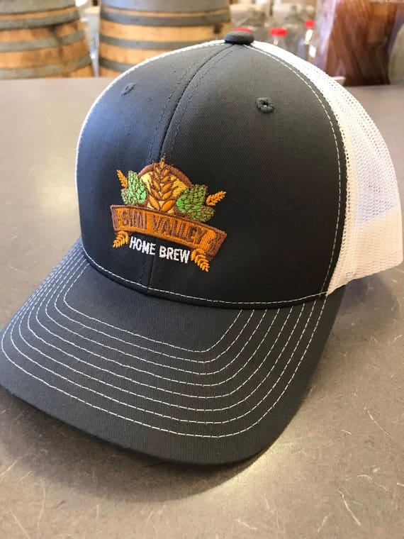 Brewing Bad Hat - Show Your Local Pride with Simi Valley Home Brew - Brew local! - Trucker style deluxe snap back