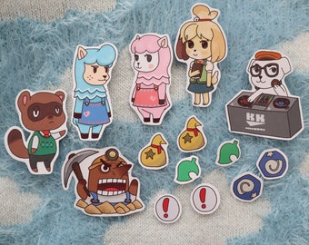 Animal Crossing Isabelle Sticker Set