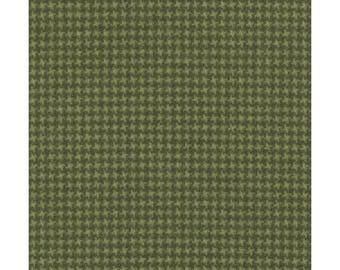 Maywood WOOLIES Soft Green 18122-G2 Weave Plaid Flannel Fabric BTY 1 Yd