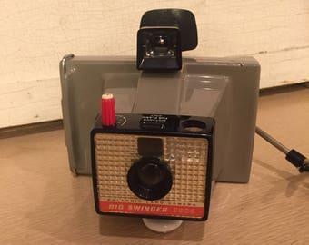 Vintage Polaroid Big Swinger Land Camera