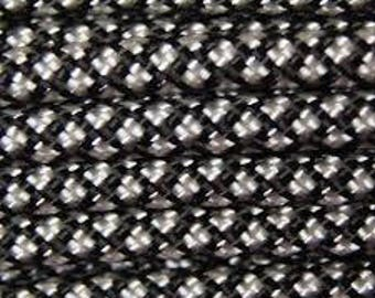 Silver Diamonds 50 Foot Hank - Paracord - 550Cord