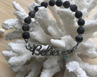 Essential Oil Bracelet Diffuser Bracelet Aromatherapy Lava Rock Bracelet Jewelry Diffuser
