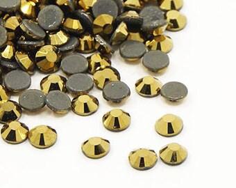 144 3.9 mm (SS16) DORADO HOTFIX rhinestones