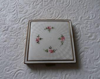 Vintage Enamel Compact